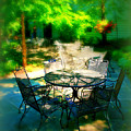 Shady Table by Perry Webster
