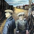Shahn: Three Men by Granger