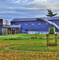 Shaker Barn And Sorghum Mill by Sam Davis Johnson