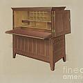 Shaker Desk by Anne Ger