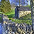 Shaker Stone Fence 6 by Sam Davis Johnson