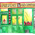 Shakespeare And Company by Anna Elkins