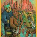 Shamans Of Sedona  by Janice Hightower