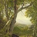 Shandaken Ridge - Kingston by Asher Brown Durand
