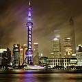Shanghai Skyline by Chris Cousins