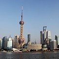 Shanghai Skyline by Thomas Marchessault