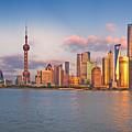 Shanghai Skyline  by U Schade