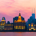 Shanghai Sunset by Andre Distel