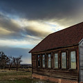 Shaniko Schoolhouse by Cat Connor