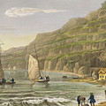 Shanklin Bay by Frederick Calvert