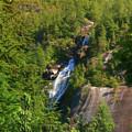 Shannon Falls - Hidden Gem In The Canadian Rockies by Ola Allen