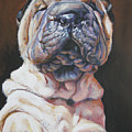 Shar Pei Pup by Lee Ann Shepard