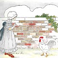 Shara And The Rooster by Lord Frederick Lyle Morris - Disabled Veteran