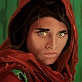 Sharbat Gula From Nat Geo Mccurry 1985 by D Turner
