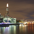 Shard From Tower Bridge London by Andrew Ford