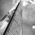 Shard, London In Black And White  by Bruno Saski