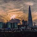 Shard Sunset by Nisah Cheatham