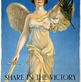 Share In The Victory. Save For Your Country by Haskell Coffin