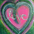 Share My Love Heart by Laurie Maves ART