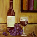 Sharing A Glass by Mary ann Barker