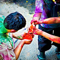 Sharing Colors Sharing Happiness by Charuhas Images