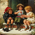 Sharing The Cherries by Joseph Clark