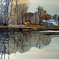 Shark River Reflections by Donald Maier