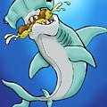 Sharks That Eat Cake Hammerhead by Sean Williamson