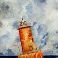 Sharps Island Lighthouse by Michael Vigliotti