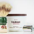 Shaving Set by Gary Gillette