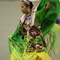 Pow Wow Shawl Dancer 3 by Bob Christopher
