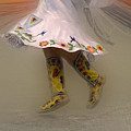 Pow Wow Shawl Dancer 8 by Bob Christopher