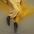 Pow Wow Shawl Dancer 9 by Bob Christopher