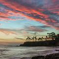 Shaws Cove Laguna Beach by Cliff Wassmann