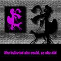 She Believed In Purple by Barbara St Jean