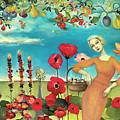 She Gathered Fruit by Cassandra Barney