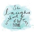 She Laughs by Nancy Ingersoll