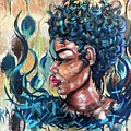 She Was A Cool Flame by Artist RiA