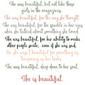 She Was Beautiful By F. Scott Fitzgerald 3 #minimalism #poem by Andrea Anderegg