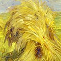 Sheaf Of Grain 1907 by Marc Franz