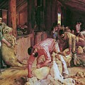 Shearing The Rams by Pg Reproductions