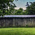 Shed At Camp Pecometh by Brian Wallace