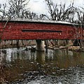 Sheeder - Hall Covered Bridge by Bill Cannon