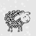 Sheep Black Star by Hieu Tran