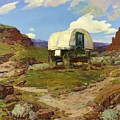 Sheep Wagon by Pg Reproductions