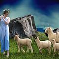 Sheep Whisperer by Marvin Blaine