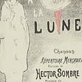 Sheet Music Aubade A La Lune by MotionAge Designs