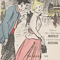 Sheet Music Dans Lxviiieme By Achille Bloch And Louis Byrec, Performed By Farville And Reschal Theo by Farville and Reschal Theophile Alexandre Steinlen