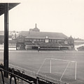 Sheffield United - Bramall Lane - Cricket Pavilion 1 - Bw - 1960s by Legendary Football Grounds