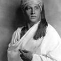 Sheik, Rudolph Valentino, 1921, Portrait by Everett